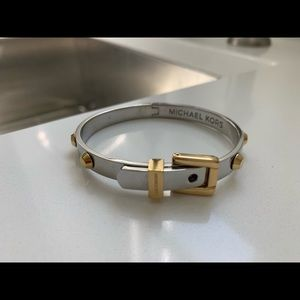 Michael Kors gold and silver rivet  new no tags